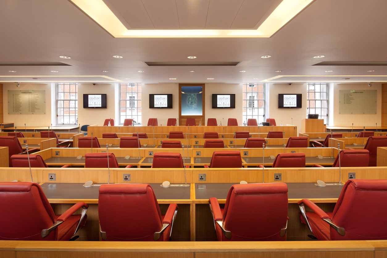 BMA House - Council Chamber - Theatre