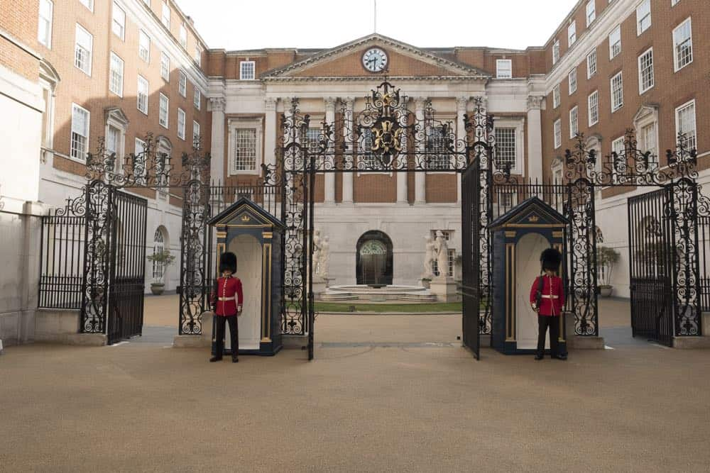 Central London filming location used in TV show Speechless, BMA House